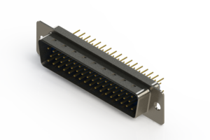 627-M50-620-LN1 - Vertical D-Sub Connector