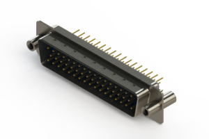 627-M50-620-LT4 - Vertical D-Sub Connector