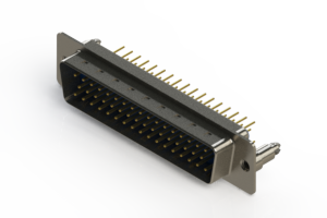 627-M50-620-LT5 - Vertical D-Sub Connector