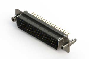 627-M50-620-LT6 - Vertical D-Sub Connector