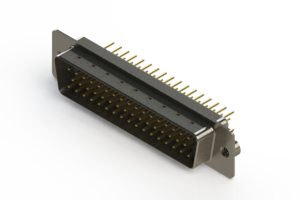 627-M50-620-WT2 - Vertical D-Sub Connector