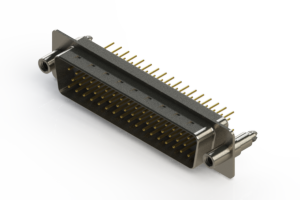 627-M50-620-WT6 - Vertical D-Sub Connector