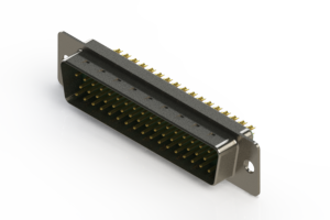 627-M50-622-GT1 - Vertical D-Sub Connector