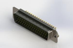 627-M50-622-GT2 - Vertical D-Sub Connector