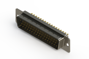 627-M50-622-WN1 - Vertical D-Sub Connector