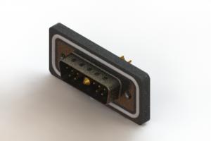 627W11W1222-3NA - Waterproof Vertical Combo Dsub