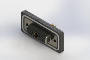 628W11W1222-3NA - Waterproof Vertical Combo Dsub