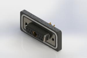 628W11W1222-4NA - Waterproof Vertical Combo Dsub
