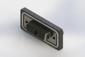 628W11W1224-3ND - Waterproof Vertical Combo Dsub