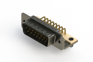 629-M15-240-WT3 - Right Angle D-Sub Connector