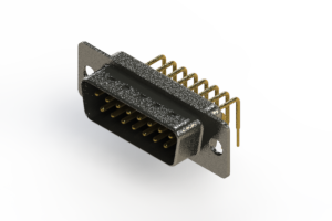 629-M15-340-BT1 - Right Angle D-Sub Connector
