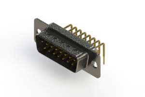 629-M15-640-WN1 - Right Angle D-Sub Connector