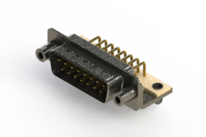 629-M15-640-WT5 - Right Angle D-Sub Connector