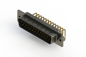 629-M25-240-BN2 - Right Angle D-Sub Connector