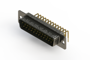 629-M25-240-GN1 - Right Angle D-Sub Connector