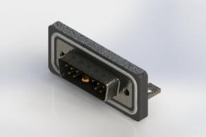 629W11W1240-1N4 - Waterproof Right Angle Combo Dsub
