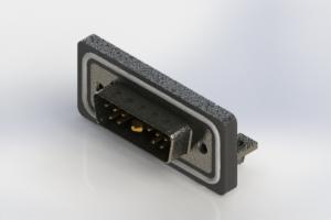 629W11W1240-2N3 - Waterproof Right Angle Combo Dsub