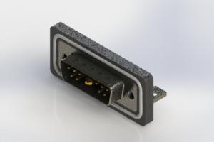 629W11W1240-2N4 - Waterproof Right Angle Combo Dsub
