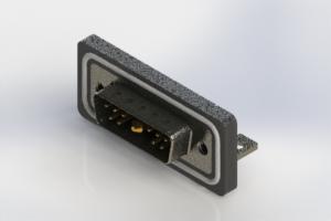 629W11W1240-2NC - Waterproof Right Angle Combo Dsub
