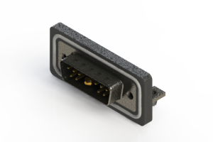 629W11W1240-3N3 - Waterproof Right Angle Combo Dsub