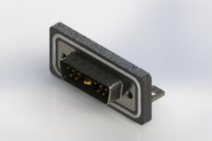 629W11W1240-3N4 - Waterproof Right Angle Combo Dsub