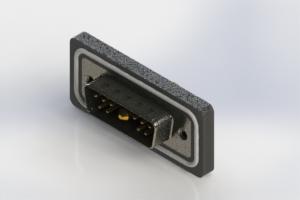 629W11W1240-4N2 - Waterproof Right Angle Combo Dsub
