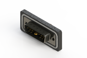 629W11W1240-4NA - Waterproof Right Angle Combo Dsub