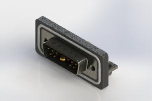 629W11W1240-4NB - Waterproof Right Angle Combo Dsub