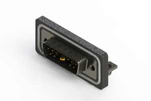629W11W1340-2NB - Waterproof Right Angle Combo Dsub