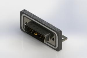 629W11W1340-4N4 - Waterproof Right Angle Combo Dsub