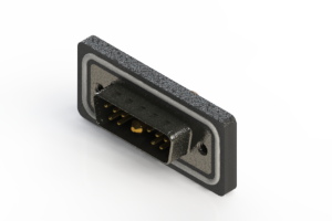 629W11W1340-4NA - Waterproof Right Angle Combo Dsub