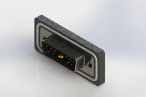 629W11W1640-1N2 - Waterproof Right Angle Combo Dsub