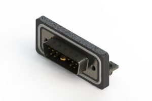 629W11W1640-1N3 - Waterproof Right Angle Combo Dsub