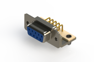 630-M09-240-LN3 - Right Angle D-Sub Connector