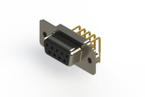 630-M09-640-BN2 - Right Angle D-Sub Connector