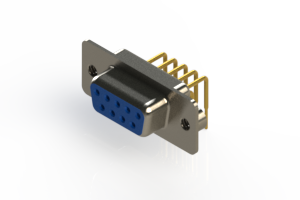 630-M09-640-LN2 - Right Angle D-Sub Connector
