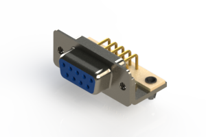 630-M09-640-LN3 - Right Angle D-Sub Connector