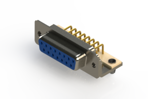 630-M15-240-LN3 - Right Angle D-Sub Connector