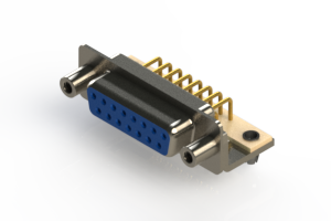 630-M15-240-LN5 - Right Angle D-Sub Connector