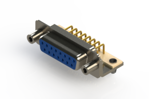 630-M15-340-LN5 - Right Angle D-Sub Connector
