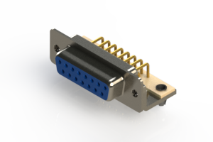 630-M15-640-LN3 - Right Angle D-Sub Connector