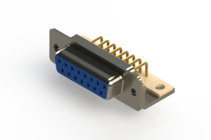 630-M15-640-LT4 - Right Angle D-Sub Connector