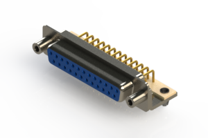630-M25-240-LN5 - Right Angle D-Sub Connector