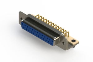 630-M25-340-LN3 - Right Angle D-Sub Connector