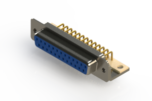 630-M25-340-LN4 - Right Angle D-Sub Connector