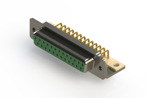 630-M25-640-GN4 - Right Angle D-Sub Connector