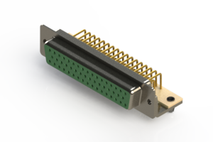 630-M50-640-GN3 - Right Angle D-Sub Connector