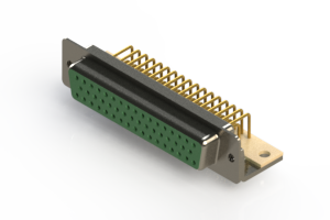 630-M50-640-GN4 - Right Angle D-Sub Connector