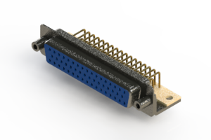 630-M50-640-LN6 - Right Angle D-Sub Connector