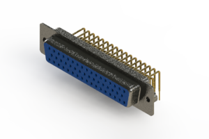 630-M50-640-LT2 - Right Angle D-Sub Connector